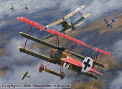 Bringing The Guns to Bear<br>SE-5<br>By Russell Smith<br>