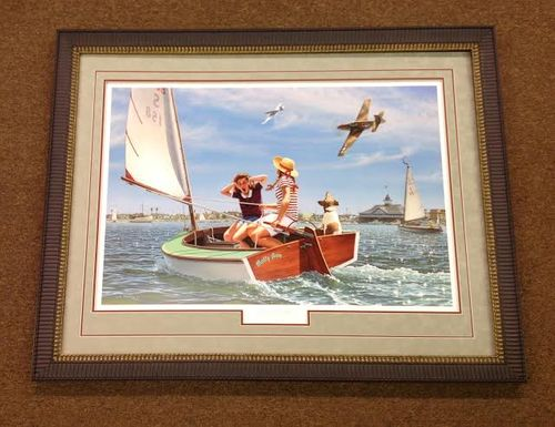 """Buzzin' the Bay<br>By Stan Vosburg<br>$175<br><b style=""""color:red;font-weight: bold;"""">""""NEW"""" </b>"""
