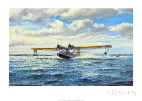Catalina Take Off <br> By Roy Cross