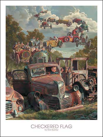 CHECKERED FLAG by BOB BYERLEY