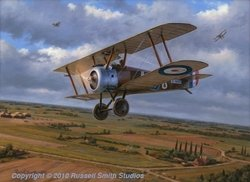 Clairmarais Camel<br>Sopwith Camel<br>By Russell Smith