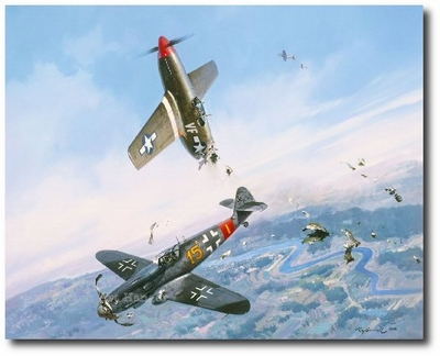 """<big><Center>""""Clash of Eagles"""" by Roy Grinnell</big></center>"""