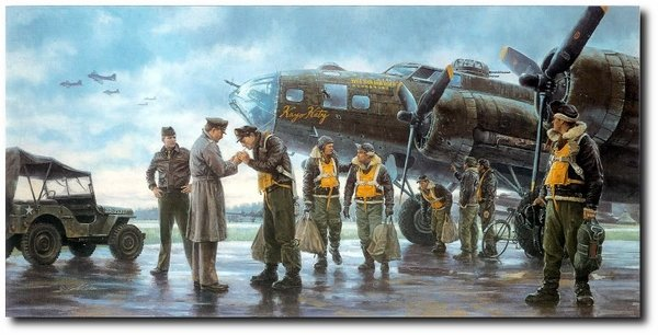 Coming Home, England 1943<br>  By Gil Cohen