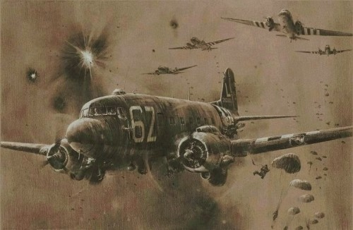 """<big>""""D-Day Drop - Stick 21""""  By Robert Taylor</big><br>Very Low Inventory"""