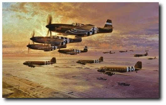 <b> D-DAY -  NORMANDY  -C-47<br>OPERATION MARKET GARDEN
