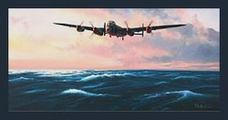 Dambuster - The Dash For Home<br> Companion Print to Dambuster Dawn<br>