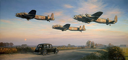 "<big><center>""Dambusters, A Moment in History"" by Mark Postlethwaite </big></center>"