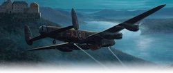Dambusters Approaching the Eder Dam<br> New Release By Mark Postlethwaite<br>