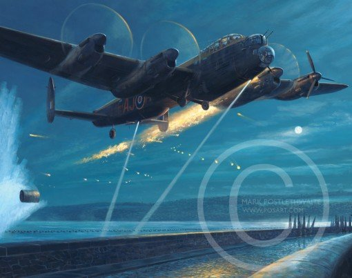 Dambusters - Courage and Sacrifice by Mark Postlethwaite