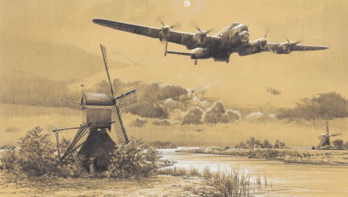 Dambusters - Inbound to Target<br> By Robert Taylor