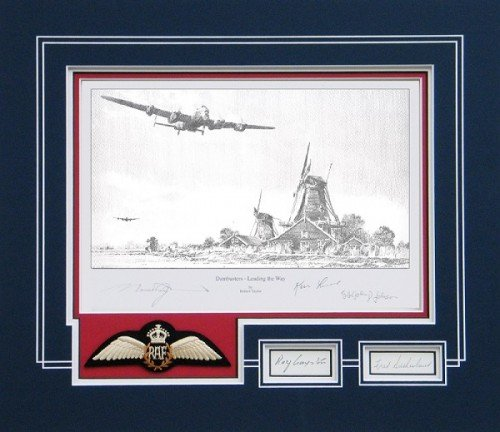Dambusters - Leading The Way - <br> COLLECTORS MATTED EDITION<br>Book/Print  by By Robert Taylor
