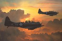 DAUNTLESS AGAINST THE RISING SUN by BILL PHILLPS