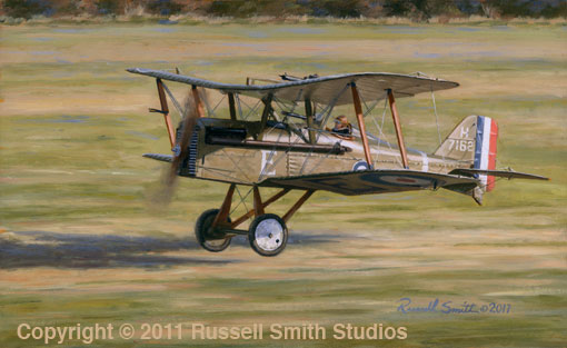 Davies' SE-5a<br>By Russell Smith