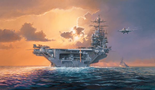 DAWN OPERATIONS - ABE LINCOLN STYLE by RICK HERTER
