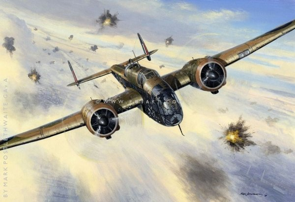 Daylight to Brest<br> Handley Page<br>