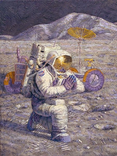 We Came in  Peace For All Mankind by Alan Bean