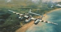 Doolittle's D-Day - NEW GICLEE CANVAS EDITION OF 75<br> By ROBERT TAYLOR