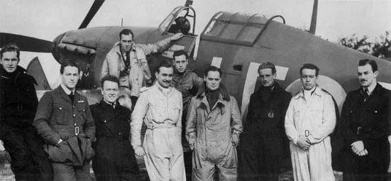 Douglas Bader and Crew