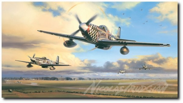 """Duxford Eagles by Nicolas Trudgian<br> <b style=""""color:red;font-weight: bold;"""">NEW</b>    Rare Secondary Market"""