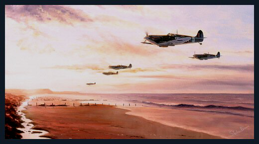 Early Morning Patrol<br> Polish Fighter Squadron<br>