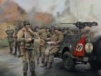 Easy Company - Moving On<br>By Chris Collingwood<br>Signed by Four Band of Brothers<br>