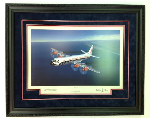 """""""Electra"""" - by Mike Machat -  Framed Print"""