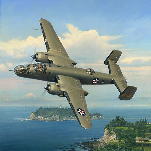 Evasive Action Over Sagami Bay<br> By Bill Phillips<br>