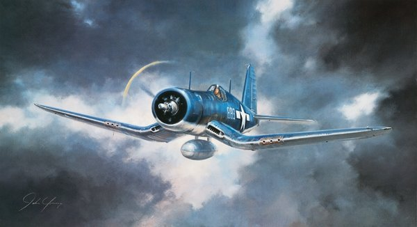 F-4U Corsair<br>By John Young <br>  $50<br>