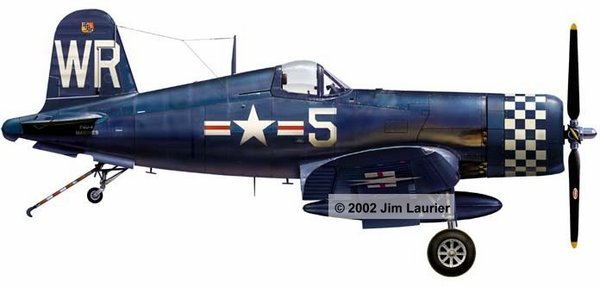 F-4U Corsair in Korean Markings