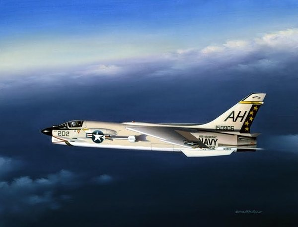 F-8 Crusader <br> Example of Image in Book<br>
