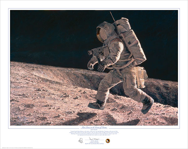 Fast Times on the Ocean of Storms by Alan Bean