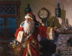 Father Christmas by Dean Morissey