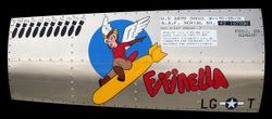 FIFINELLA - B17 Nose Art Panel by GARY VELASCO - B-17