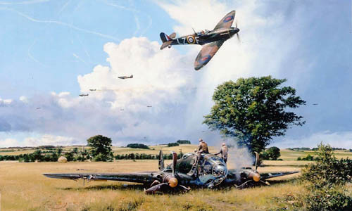 Fight For The Sky<br> By Robert Taylor <br> Rare Millenium Edition<br>$1,395