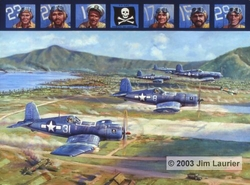 Fighting 17 <br> By Jim Laurier<br> Signed by 3 VF-17 Pilots<br>