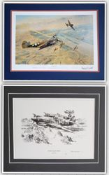 "<big><center> ""Fighting Tigers"" and ""Tigers on the Prowl"" Folio Set<br> by Robert Taylor</big></center><br> This folio set of prints has matching numbers and is sold as a set.<br>"
