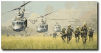 FIRST BOOTS ON THE GROUND by BILL PHILLIPS<br> Almost Sold Out!