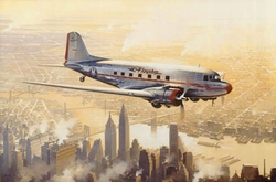 Flagship Over Manhattan<br> By Robert Watts<br>