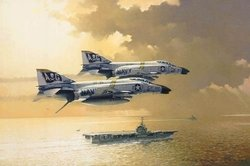 Flying The Jolly Roger<br> By Robert Watts<br>3 F-4 Phantom Pilot Signatures