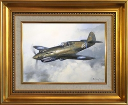 FLYING TIGERS - ORIGINAL OIL by DARRYL LEGG - Tex Hill