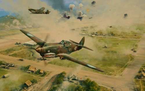 Flying Tigers - The Stuff of Legend<br>  New Release By Robert Taylor<br>