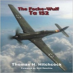 FOKKE WULF TA-152 by THOMAS HITCHCOCK<br>Bookplate Walter Reschke Signed<br>