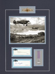 FRANK CAREY - CHRISTOPHER<br> FOXLEY-NORRIS<br>RAF Fighter Pilot<br>