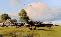 Front Line Hurricanes<br> By Robert Taylor