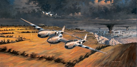 Front Row Seats<br> Signed by Robin Olds<br>Art Jeffrey<br>$145