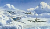 Full House - Aces High<br> By John Doughty<br>15 Pilot Signatures<br>