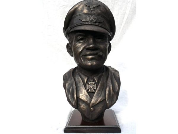 GENERAL ADOLF GALLAND<br>  Bronze Collection by Peter Close<br>