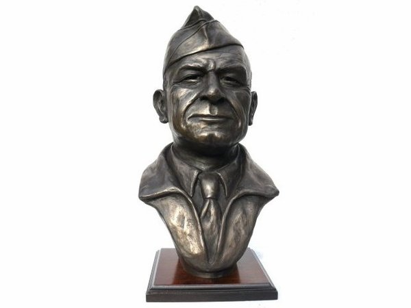 General James Doolittle <br> Bronze by Peter Close