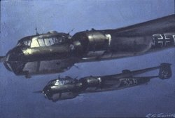 German Bomber - Dornier<br>