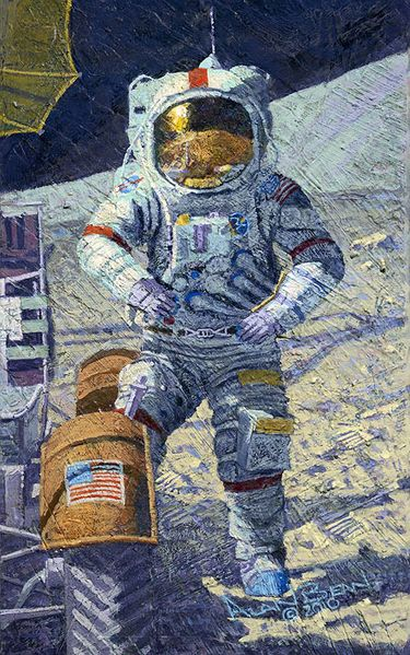Getting Ready to Ride<br>NEW RELEASE  By Alan Bean